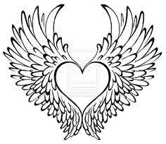 Hearts With Wings - best 25 with wings ideas on miscarriage