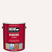 can i use bonding primer on cabinets behr 1 gal white bonding interior exterior primer