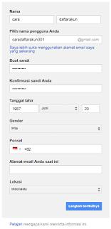 cara membuat akun gmail terbaru daftar gmail baru cara buat akun google panduan lengkap cara
