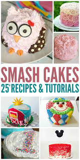 25 smash cake recipes u0026 tutorials smash cake recipes smash