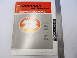 1978 johnson outboard service manual 6 hp 6r78 6rl78 ebay