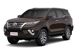 toyota vehicles price list toyota fortuner price images reviews mileage specification
