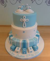 baby boy cakes baby boys christening cake with baby boots cake by caketastic