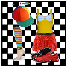 Tweedle Dee And Tweedle Dum Costumes Sparkle Athletic Twin Inspired Running Costume Sparkle Athletic