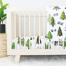 Woodland Animals Crib Bedding Woodland Nursery Bedding Accessories Caden