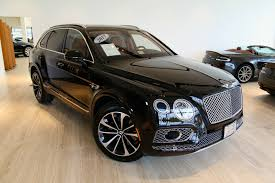 bentley blacked out 2017 bentley bentayga w12 signature stock 7nc015377b for sale