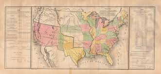 Mexico Map 1821 by Lines Of Treaty Map Of The United States Between 1783 And 1848