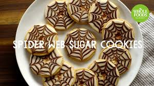 spider web sugar cookies freshly made whole foods market youtube