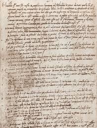 Famous Resumes Leonardo Da Vinci U0027s Handwritten Resume 1482 Open Culture