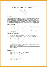 A Functional Resume Functional Resume 7 Functional Format Example Combination Format