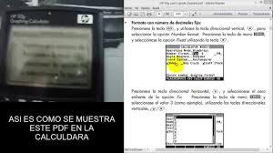hp50g pdf enviar pdf hp50g hp49g youtube