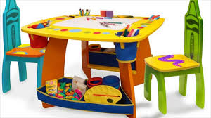 kids play table with storage kids activity table storage youtube