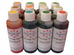 farben americolor softgel fondantfarben