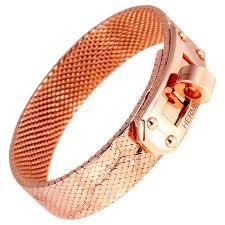 gold bracelet hermes images Hermes kelly rose gold bracelet for sale at 1stdibs jpg