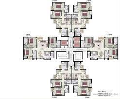 100 2 bhk home design plans way2nirman 100 sq yds 20x45 sq