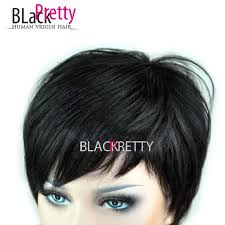 hair products for pixie cut rihanna hair style short pixie cut wig natural black human hair