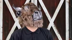 deluxe halloween masks buffalo deluxe latex mask halloween masks trendyhalloween com