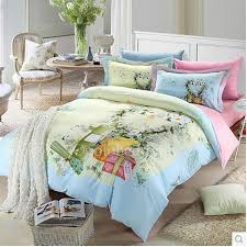 Beautiful Duvet Covers Light Blue Best Beautiful Floral Duvet Covers On Sale Obd081329
