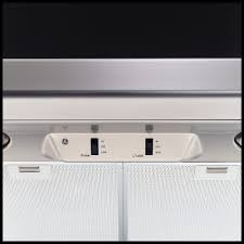 Halogen Under Cabinet Lighting by Ge Jv536hss 30 Inch Under Cabinet Range Hood With Up To 250 Cfm