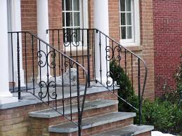 Exterior Stair Handrail Kits Awesome Exterior Wrought Iron Stair Railing Kits Verambelles