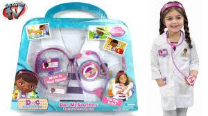 Doc Mcstuffins Costume Doc Mcstuffins Doctor U0027s Dress Up Playset Disney Junior Cosplay Toy