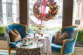 the decorations at the westbury the
