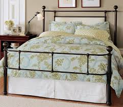 Pottery Barn Iron Bed Dose Of Design Style Story Metal Beds