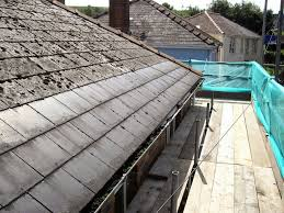 Cement Roof Tiles Composite Asbestos Cement Roof Tiles The Weathered Tiles On The