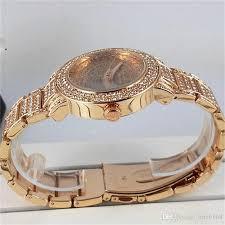 bracelet luxury crystal images New famous luxury crystal dial bracelet quartz wrist watch jpg