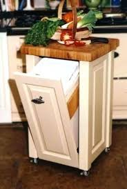 kitchen island with trash bin kitchen island with trash storage kitchen island with garbage bin