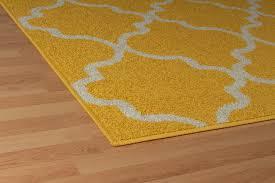 Yellow Lattice Rug Amazon Com Modern Yellow Morrocan Trellis Runners 2x8 Hallway