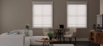 Roman Shades Over Wood Blinds Roman Shades For Every Décor At Blinds Com