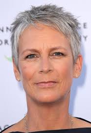 haircut with bangs women over 50 jamie lee curtis short haircut for women over 50 pretty designs