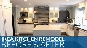 Kitchen Makeover Contest by Ultimate Ikea Kitchen Remodel Before U0026 After Youtube