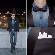 new years bow tie alex robles pull denim shirt zara bow tie h m collared