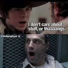 Walking Dead Stuff And Things Meme - i m doing stuff thangs