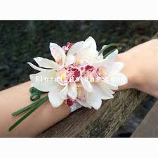 orchid corsage cymbidium orchids corsage wedding flowers leicester