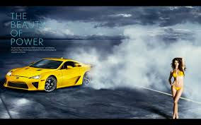 lexus lfa wallpaper yellow lexus lfa meets a supermodel crankandpiston com