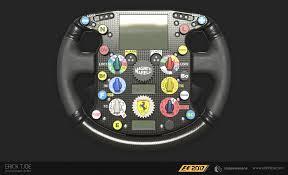 ferrari steering wheel f1 2017 ferrari f2007 steering wheel u2014 polycount
