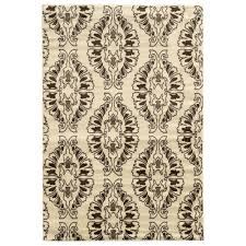 linon home decor rugs linon home decor elegance neice white 2 ft x 3 ft rectangle area