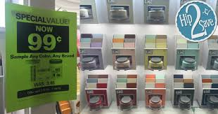 lowe u0027s paint samples only 99 each regularly 3 48 u2013 hip2save