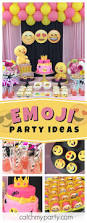 118 best emoji party ideas images on pinterest birthday party