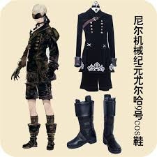 s shoes and boots size 9 shoes made nier automata 9s yorha no 9 model s