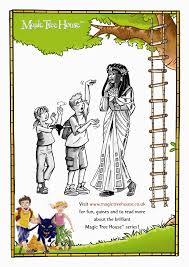 magic tree house colouring activity scholastic kids u0027 club