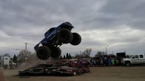 legendary monster truck bigfoot makes stop in jamestown newsdakota