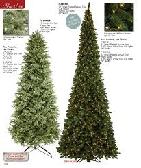 artificial slim trees many light options available