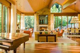 High Ceiling Curtains by High Ceiling Curtains Living Room Contemporary With Sloped Ceiling