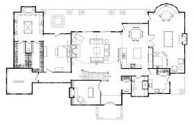 open house floor plans chamberien log homes cabins and log home floor plans