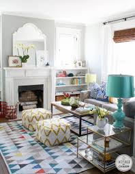 a change of color inspired by charm colorful living rooms