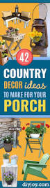 42 brilliant country decor ideas to make for your porch diy joy